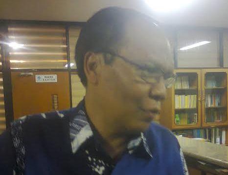 Rektor Universitas Lampung Hasriadi Mat Akin. | Sugiono/Jejamo.com