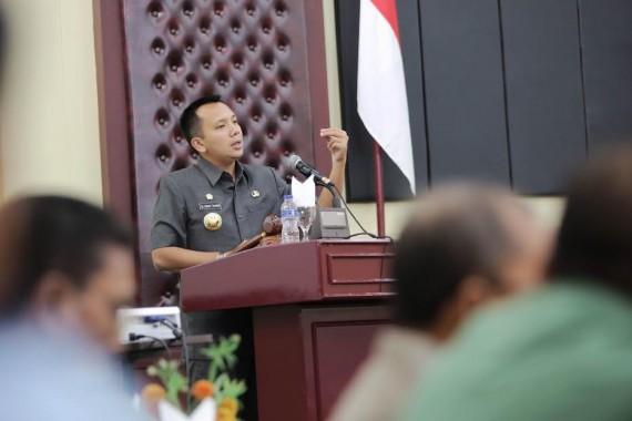 Pemkab Lampung Timur Serahkan Bibit Padi di Kecamatan Batanghari
