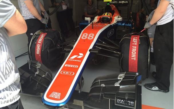 Bos Manor Racing Harapkan Hasil Kualifikasi Rio Haryanto Bagus Saat Gunakan Ban Supersoft