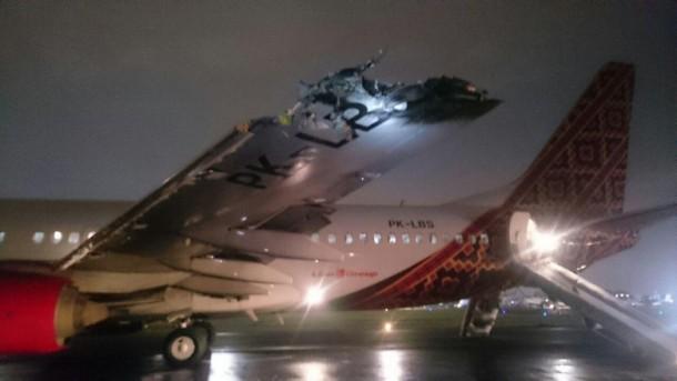 Tabrakan Pesawat Batik Air dan TransNusa, 49 Penumpang Selamat