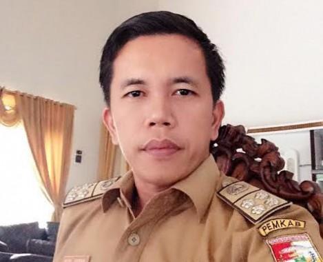 Sekretaris Dinas PU Tulangbawang Barat Rizal Irawan. | Mukaddam/Jejamo.com