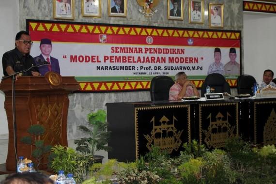 Pemkab Lampung Utara Helat Seminar Pendidikan