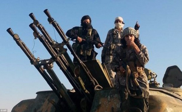 Senjata Anti Udara ISIS