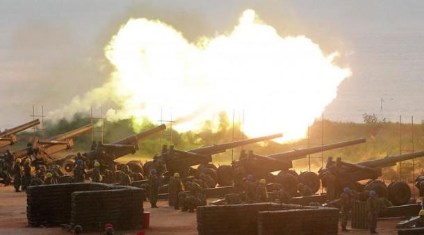 Serangan Artileri Turki ke Suriah