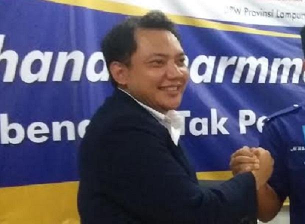 Korwil DPW Partai NasDem Lampung Taufik Basari | jejamo.com