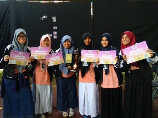 Rohis SMAN 2 Bandar Lampung Juara Umum Camp Muslimah Teen di Lembang