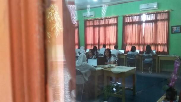 Sebanyak 349 Siswa SMA Negeri 2 Bandarlampung Mengikuti UNBK