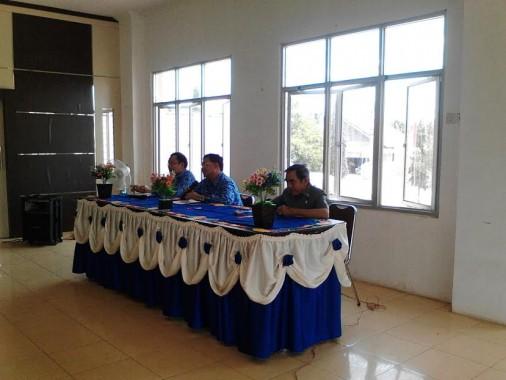 Wakil Bupati Lampung Utara Sri Widodo Tekankan Kedisiplinan Pegawai