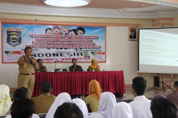 Wakil Bupati Lampung Utara Lepas Kafilah MTQ