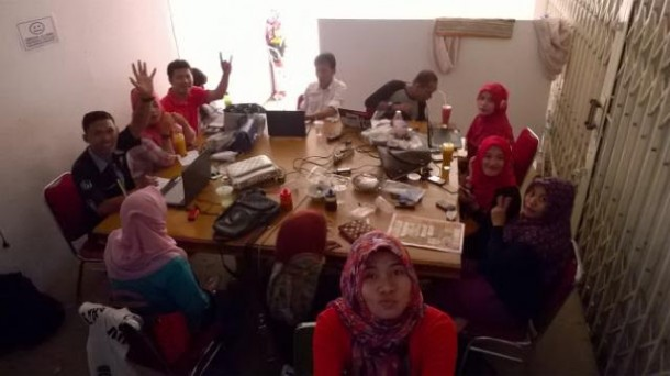 Wartawan Pemprov Lampung