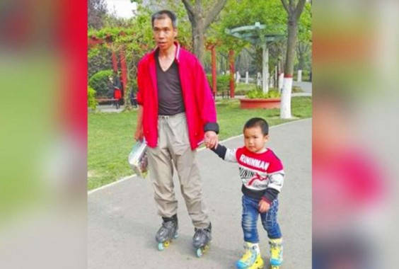 Ajarkan Ketabahan, Ayah di Cina Ajak Anaknya Susuri Jalan Sepanjang 540 Km