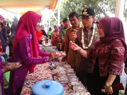 Wakil Bupati Lampung Timur Tinjau Lomba Desa dan Home Industri di Kecamatan Pekalongan