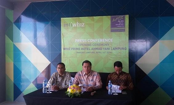 Hadir di Lampung, Hotel Whiz Prime Tawarkan Tarif Hemat