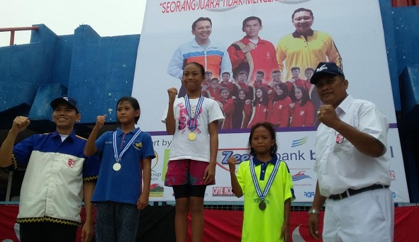 Krisis Medali, PRSI Lampung Harus Kembalikan Kejayaan Renang