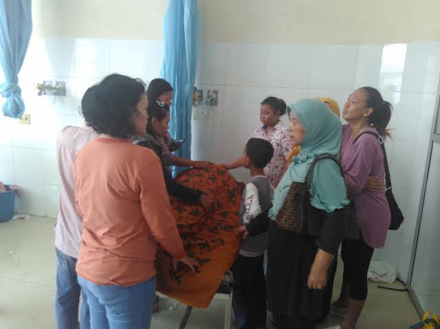H. Alim, korban meninggal oleh pelaku pencurian di rumahnya di Panjang Bandar Lampung. | Andi/Jejamo.com