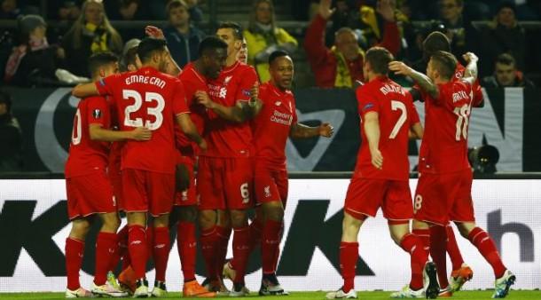 Liverpool Sukses Tahan Tuan Rumah Dortmund 1-1