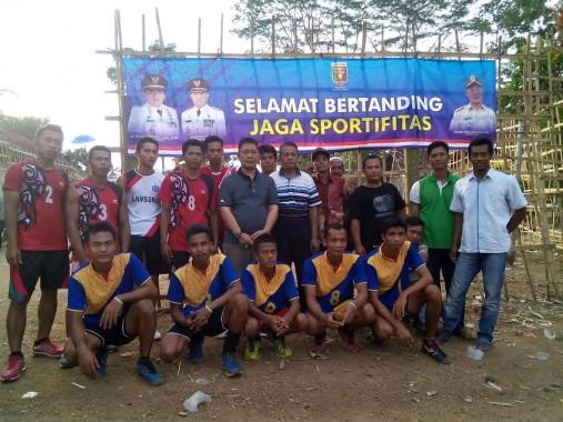 Demi Warga Taat Bayar Pajak, Kepala Dinas Pendapatan Provinsi Lampung Gelar Turnamen Voli