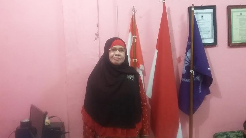 Dra. Mardhiah, tenaga pendidik di SD Islamiyah Bandar Lampung. | Arif/Jejamo.com