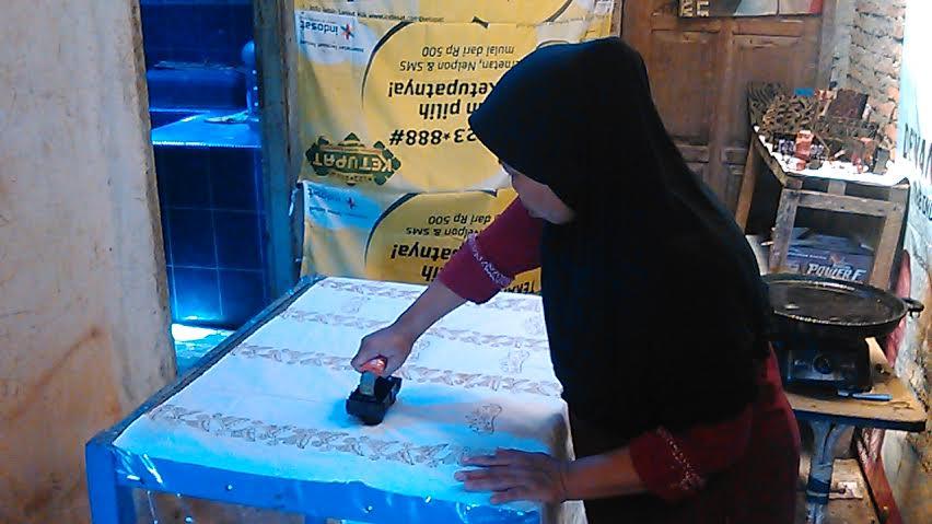 Sanggar Kain Batik Metro Beri Pelatihan Membatik Anak Putus Sekolah