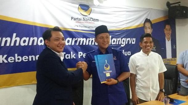 Pilkada Serentak 2017, NasDem Lampung Target Raih 70 Persen Suara di Dua Kabupaten