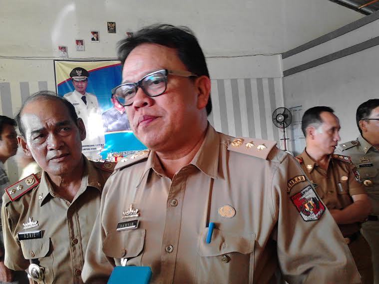 Sekda Lampung Utara, Samsir. | Lia/Jejamo.com