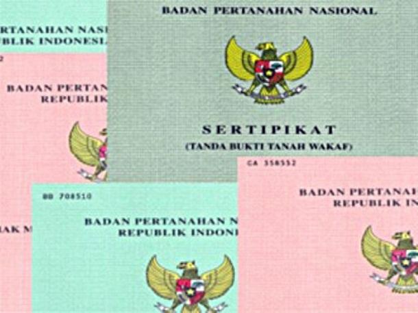 Sertifikat Tanah Berbiaya Rp 50 Ribu Belum Rambah Lampung