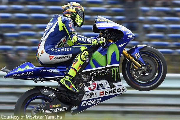 Tercepat, Rossi Sukses Raih Pole Position di Jerez