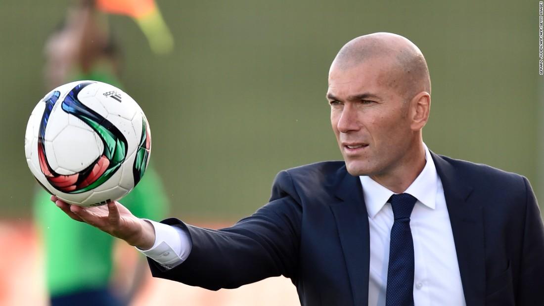 Zidane Pesepakbola Paling Cerdas di Dunia
