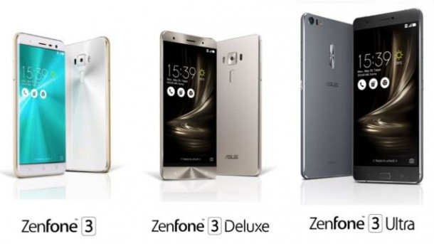 3 Jenis Asus Zenfone 3 Diluncurkan
