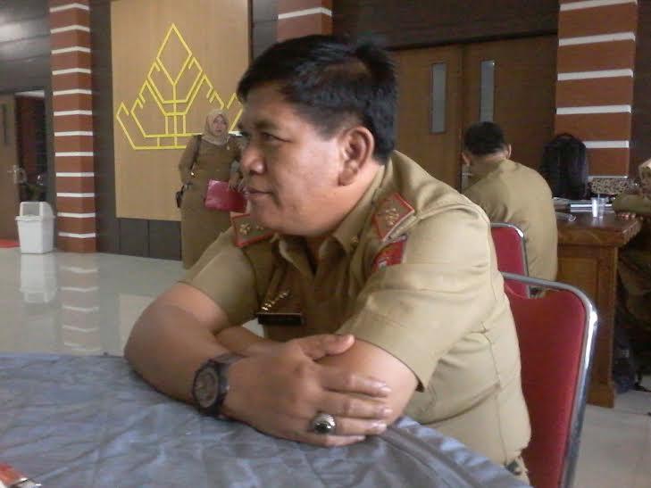 Kepala Badan Penanaman Modal Kabupaten Lampung Barat Jaimin di Kantor Bupati Tulang Bawang Barat | Mukaddam/jejamo.com