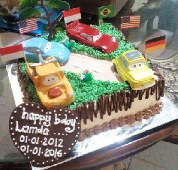 Abrati Cake Sindang Sari Kotabumi Kota Sudah 5 Tahun Eksis Layani Pesanan Kue Ulang Tahun