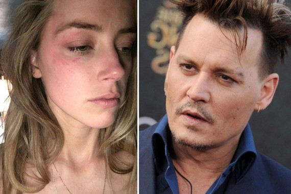 Amber Heard dan Johnny Deep