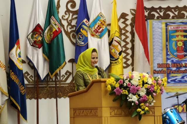 Ketua DPW LASQI Lampung Aprilani Yustin Ficardo | Istimewa
