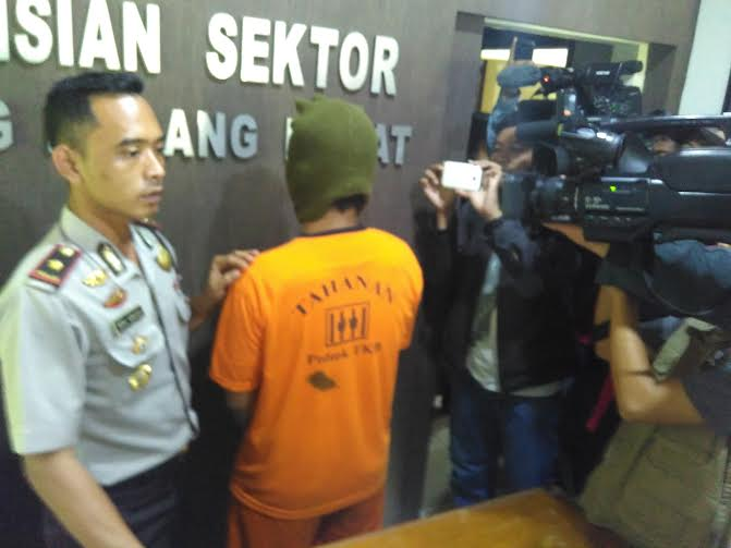 Polsekta Tanjungkarang Barat menangkap atlet catur lampung karena mencuri | Andi/jejamo.com