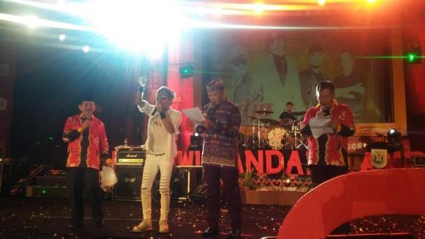 Band Raja dan Wali Kota Bandar Lampung