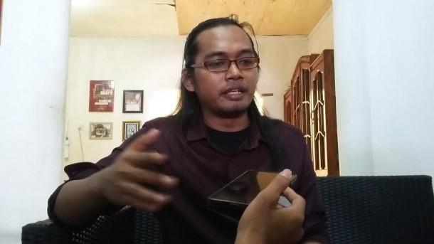 Kadiv Advokasi Ekosof LBH Bandar Lampung, Chandra Bangkit Saputra | Tama/jejamo.com
