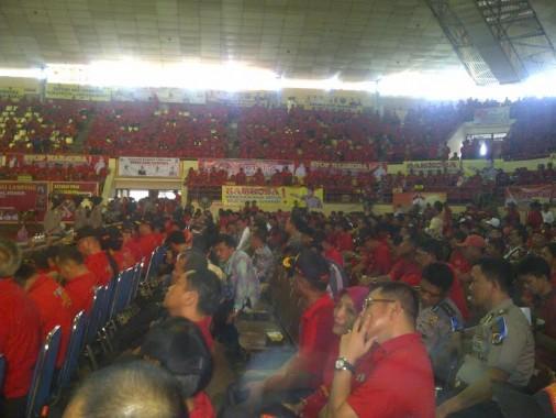 Satgas Antinarkoba Dilantik, GSG Universitas Lampung Lautan Merah