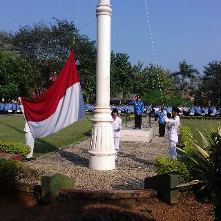 Upacara Harkitnas di Lampung Timur. | Suparman/jejamo.com