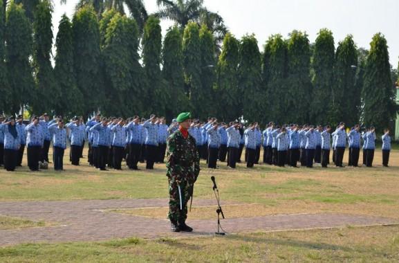 Upacara Harkitnas Pemprov Lampung, NKRI Harga Mati