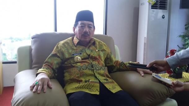 WSali Kota Bandar Lampung Herman HN. | Arif Wiryatama/Jejamo.com