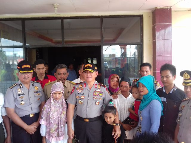 Kapolda Lampung Kunjungan Kerja, Pelaku Pencabulan di Kota Metro Ditahan