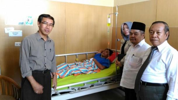 Biaya Pengobatan Pupung Ditanggung Keluarga, Tak Sepeser pun Dibantu IAIN Raden Intan