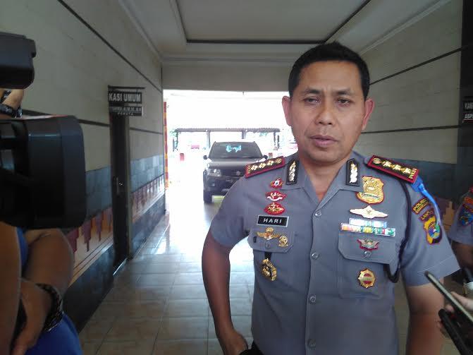 Kapolresta Bandar Lampung Komisaris Besar Hari Nugroho | Andi/jejamo.com