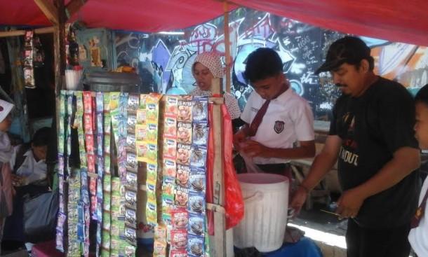 PKL Lapangan Samber Kota Metro Minta Tak Direlokasi