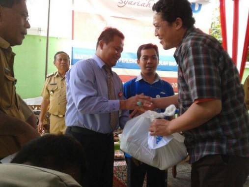 PKPU Lampung-CIMB Niaga Syariah Salurkan Bantuan Korban Banjir Telukbetung
