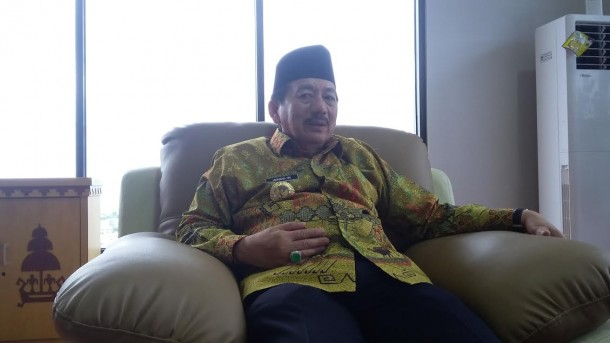 Wali Kota Bandar Lampung Herman HN. | Arif Wiryatama/Jejamo.com