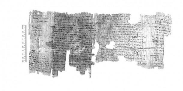 Papirus Berisi Mantra Pemikat Lawan Jenis