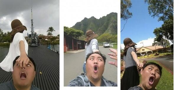 Kocaknya Parodi Foto dengan Tagar #FollowMeTo? Buatan Pasangan Ini
