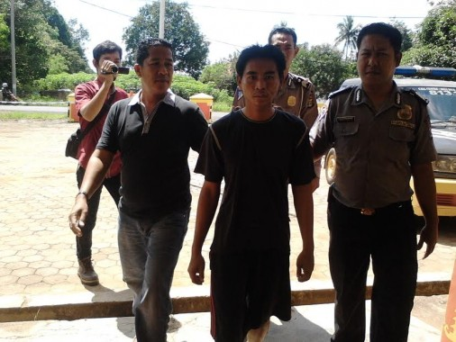 Usai Empat Kali Beraksi, Pelaku Pencurian dengan Kekerasan di Lampung Utara Dibekuk