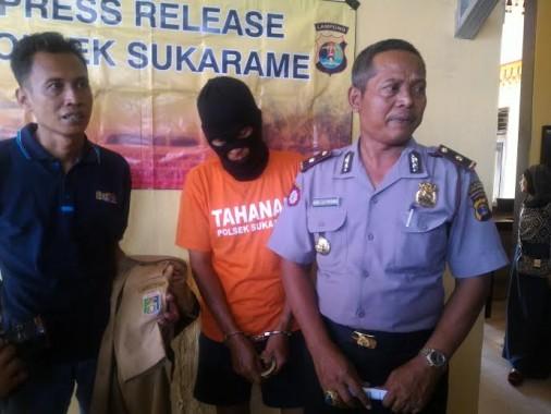 Cabuli Dua Pelajar SMP, Oknum PNS Pemprov Lampung Ditangkap Polisi